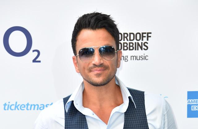 Peter Andre attending the Nordoff Robbins O2 Silver Clef Awards 2018, held at Grosvenor House Hotel, London. (Photo by Matt Crossick/PA Images via Getty Images)
