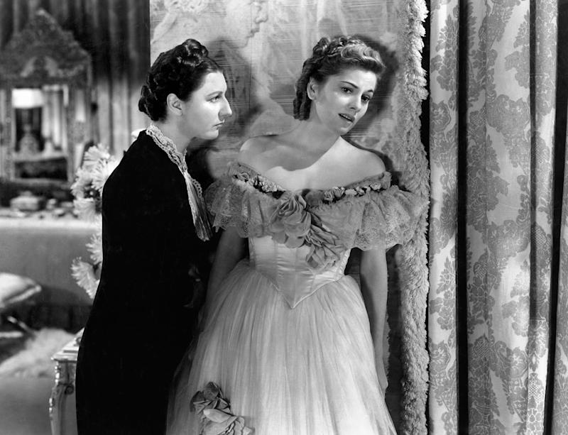 Judith Anderson and Joan Fontaine in Hitchcock's RebeccaRex Features