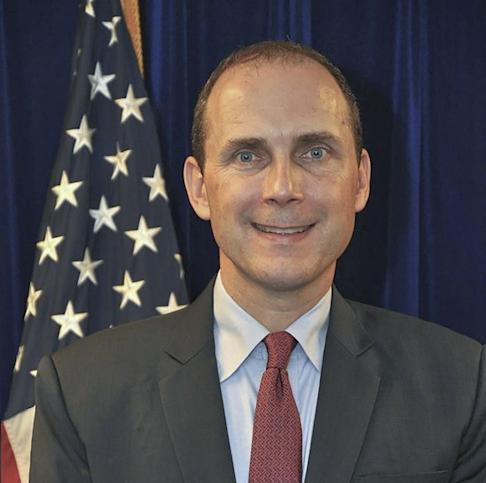 US consul general Hanscom Smith was summoned over his country's Hong Kong democracy act. Photo: Facebook