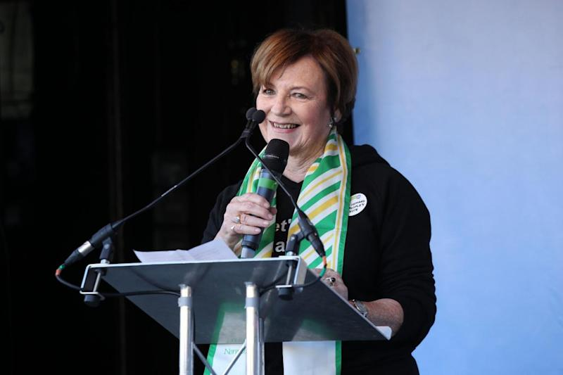 Delia Smith was among speakers at the event (PA)