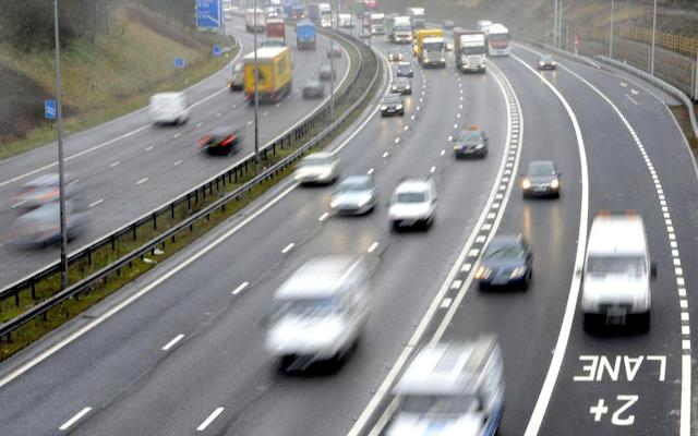 A quirk of EU rules means it isn't possible to trace many drivers who have been issued with tickets in the UK - PA