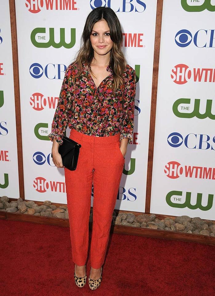 """And last but not least ... we have Rachel Bilson, who delivered a major eyesore -- in the form of a matronly Erdem ensemble -- at a Television Critics Association party hosted by Showtime and The CW.   Follow What Were They Thinking?! creator, <a href=""""http://bit.ly/lifeontheMlist"""" target=""""new"""">Matt Whitfield</a>, on Twitter! Steve Granitz/<a href=""""http://www.wireimage.com"""" target=""""new"""">WireImage.com</a> - April 3, 2011"""