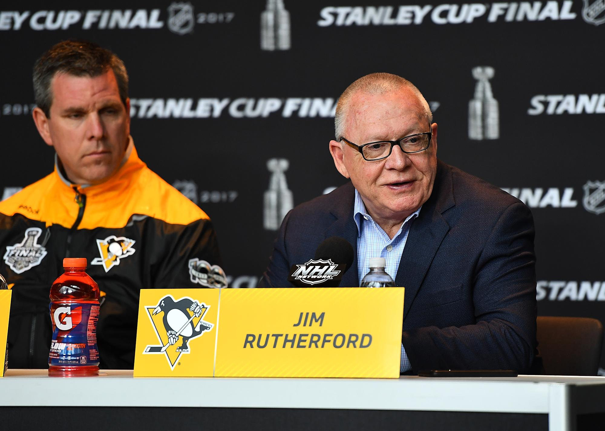 Penguins GM Jim Rutherford abruptly resigns for personal reasons