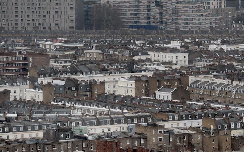 Housing in central London (PA Archive)
