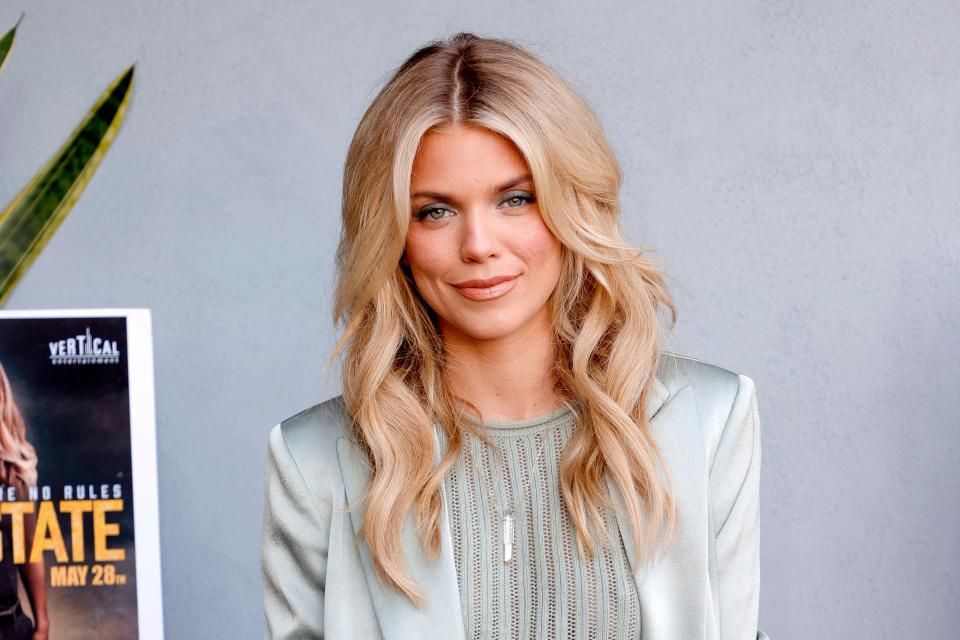 LOS ANGELES, CALIFORNIA - JUNE 02: AnnaLynne McCord attends the premiere of