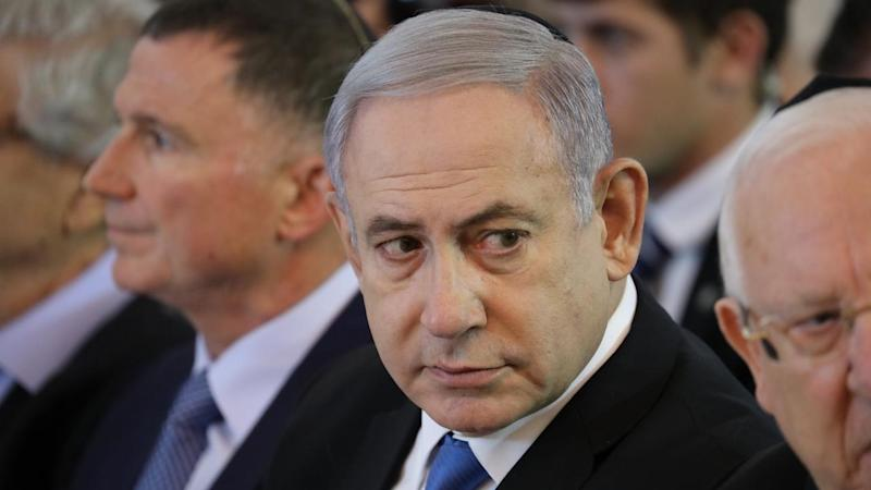 ISRAEL GOVERNMENT NETANYAHU INDICTED