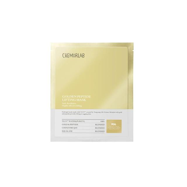 """<p>If you want to give Mom a luxurious lift that doesn't require Botox or needles, look no further. This potent face mask will do the neccessary work to make sure skin is plumped up and wrinkle-free. Thanks to powerful ingredients such as gold, Coenzyme Q10, and phytosqualane, skin will have increased elasticity and bounce. <strong>Cremorlab Golden Peptide Plumping Mask</strong>, <a href=""""https://www.peachandlily.com/products/golden-peptide-plumping-mask"""" rel=""""nofollow noopener"""" target=""""_blank"""" data-ylk=""""slk:$12"""" class=""""link rapid-noclick-resp"""">$12</a> (Photo: Cremorlab) </p>"""