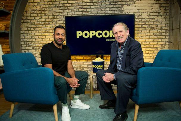 PHOTO: Kal Penn appears on 'Popcorn with Peter Travers' at ABC News studios, Sept. 25, 2019. (Jeff Swartz/ABC News )