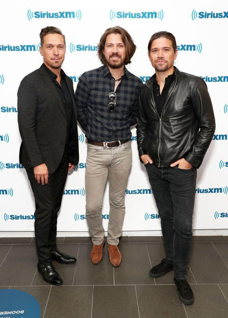 <p>Much like many of the other '90s musicians on this list, these three are still performing together as a band. AND I'M KINDA SHOOK BY THIS PIC, NOT GONNA LIE. </p>