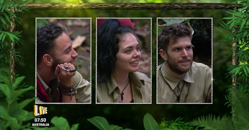 I'm A Celebrity 2016: Adam Thomas leaves the jungle in third place (Copyright: Wenn)