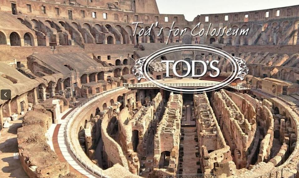Tod's for Colosseum