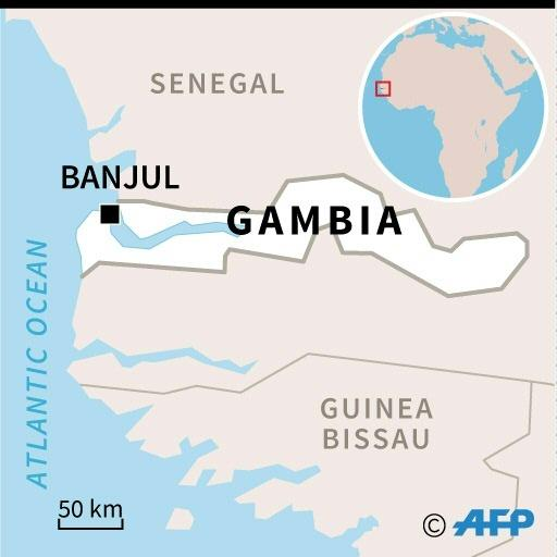 Gambia is a small West African country surrounded by Senegal