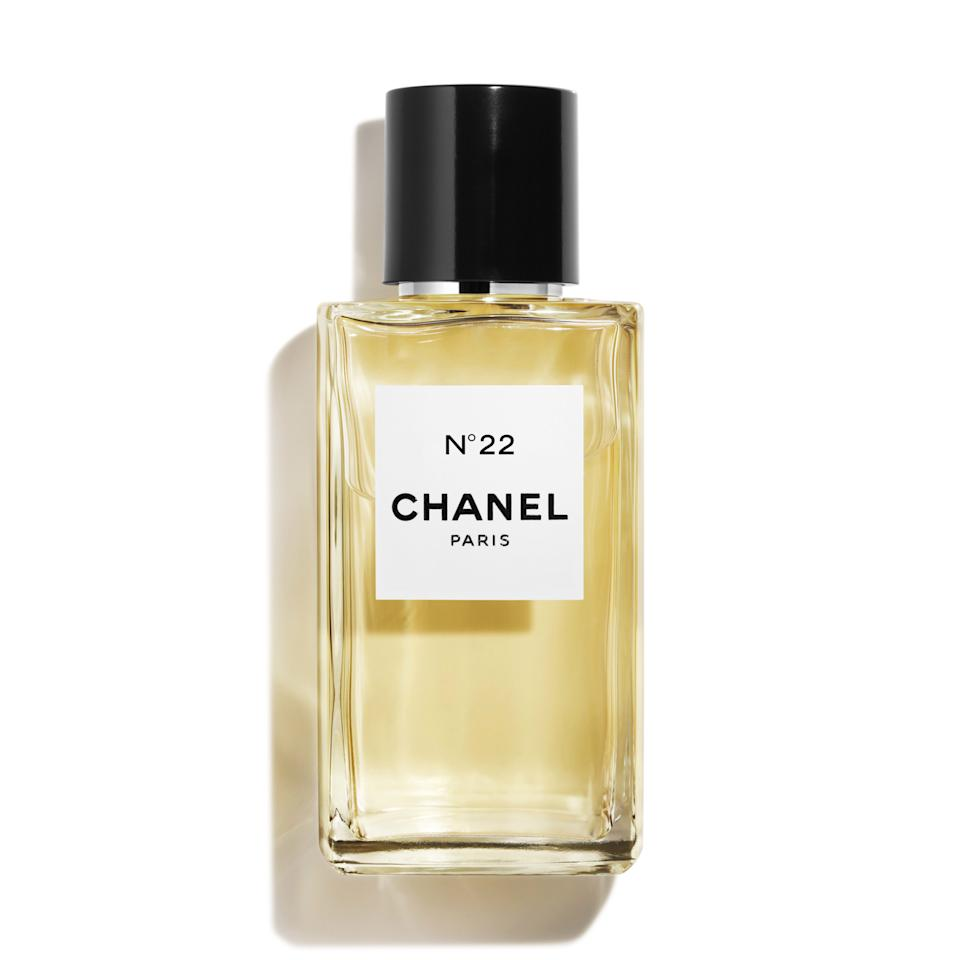 """<p><strong>Birth Year:</strong> 1922</p> <p>The second perfume ever dreamed up by Coco Chanel and her perfumer, Ernest Beaux, this tuberose-laced fragrance followed No. 5 by one year. It's a lighter, sparklier version of its older sibling, and the incense-tinged white-flower cocktail still feels entirely modern almost a century later.</p> <p><strong>$240 for .5 ounces</strong> (<a href=""""https://www.chanel.com/us/fragrance/p/120021/n22-les-exclusifs-de-chanel-parfum/"""" rel=""""nofollow"""">Shop Now</a>)</p>"""