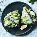 <p>Elevate simple toast with a green, veggie-loaded spread packed with mint, fennel and sweet English peas. One of these generously topped bruschetta-like toasts makes a great appetizer; two of them are perfect as a light lunch with a salad. Canned sardines and anchovies are delicious here, as are grilled fresh sardines if you can find them.</p>