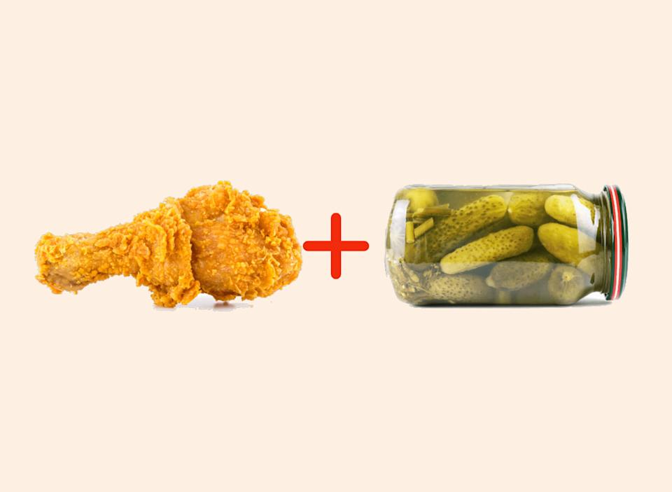 chicken with pickle brine amazing food pairings