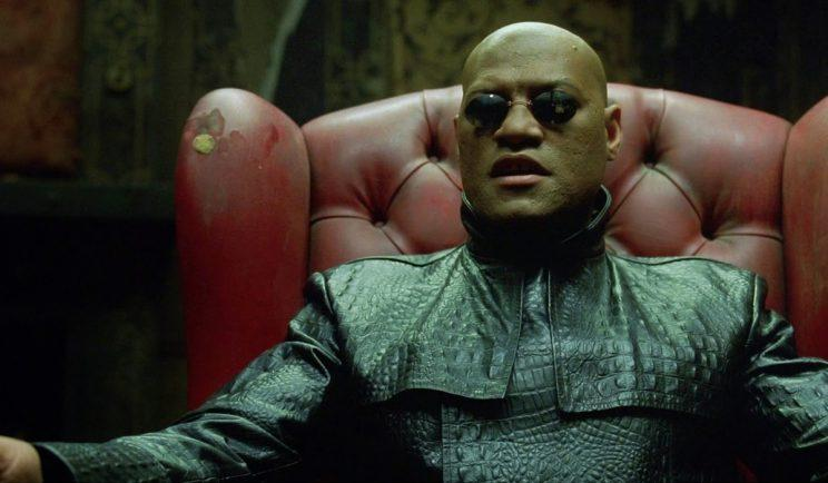 Will Morpheus get his own movie? - Credit: Warner Bros.