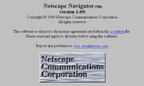 "<p>Netscape was released on April 4, 1994—another brainchild of Marc Andreessen. Some cite Netscape for <a href=""https://www.popularmechanics.com/culture/web/a27033147/netscape-navigator-history/"" rel=""nofollow noopener"" target=""_blank"" data-ylk=""slk:kicking off the dot com boom"" class=""link rapid-noclick-resp"">kicking off the dot com boom</a>, while others were happy to have an internet navigator that was easy to use and maneuver. </p><p>Before Netscape, the internet was still a rather abstract notion to a lot of people who hadn't logged on.</p>"