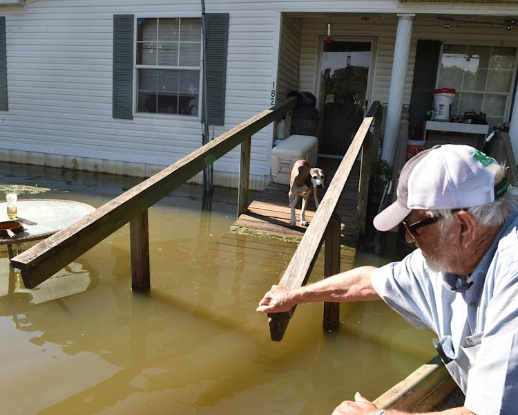 Some homes in the Mississippi Delta have been flooded since February. Damage could total tens of millions of dollars.