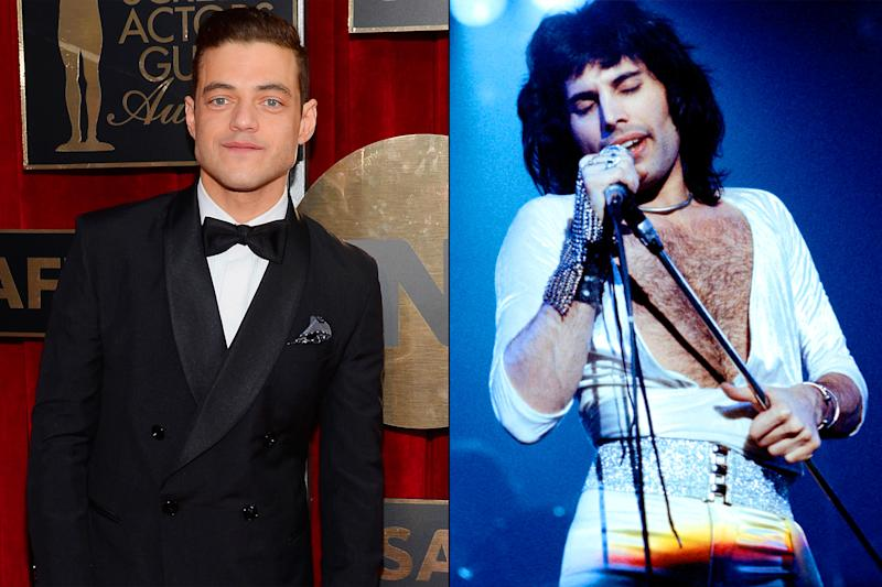 Open your eyes and see this new photo of Rami Malek as Freddie Mercury