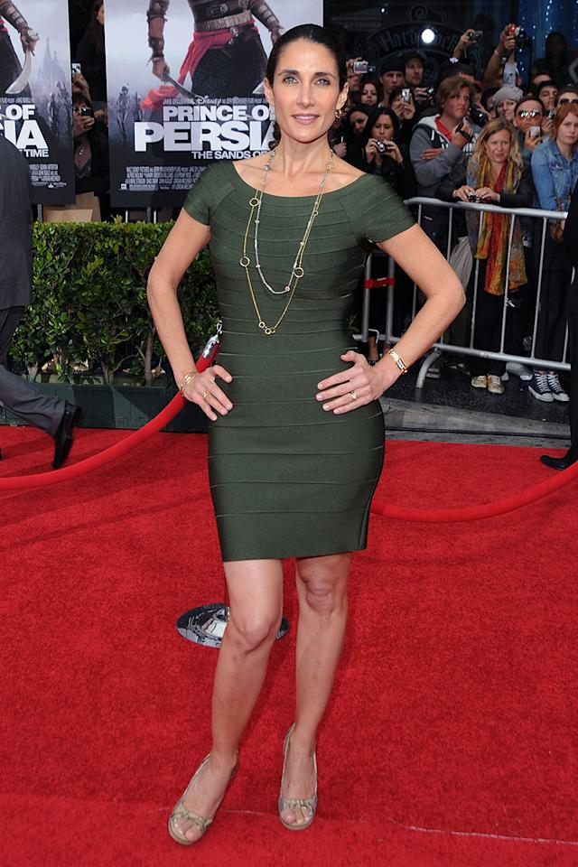 """<a href=""""http://movies.yahoo.com/movie/contributor/1800300179"""">Melina Kanakaredes</a> at the Los Angeles premiere of <a href=""""http://movies.yahoo.com/movie/1810041991/info"""">Prince of Persia: The Sands of Time</a> - 05/17/2010"""