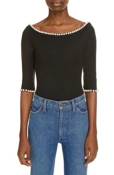 <p>This <span>MARC JACOBS x Capezio The Leotard</span> ($395) adds irresistible elegance to any look.</p>