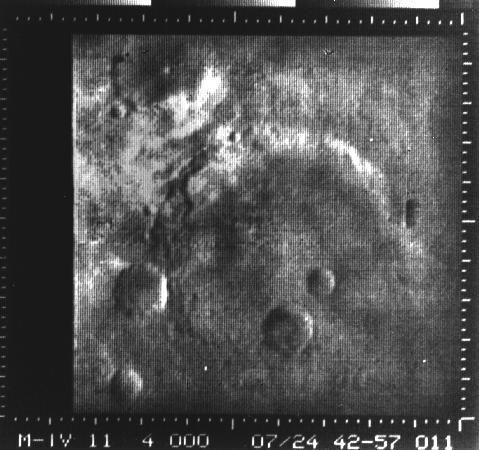 """<p>On July 14, 1965, Mariner 4 <a href=""""https://www.popularmechanics.com/space/a16443/solar-system-planets-pictures/"""" rel=""""nofollow noopener"""" target=""""_blank"""" data-ylk=""""slk:snapped the first ever images"""" class=""""link rapid-noclick-resp"""">snapped the first ever images</a> of another planet. During its journey, the spacecraft <a href=""""https://photojournal.jpl.nasa.gov/catalog/PIA02980"""" rel=""""nofollow noopener"""" target=""""_blank"""" data-ylk=""""slk:came within 6,118 miles of Mars"""" class=""""link rapid-noclick-resp"""">came within 6,118 miles of Mars</a>, and revealed in stunning detail (for the time) sunken craters, rust-colored hills and ancient carved stream beds—a signal that <a href=""""https://www.popularmechanics.com/space/moon-mars/g1357/a-brief-history-of-life-on-mars/"""" rel=""""nofollow noopener"""" target=""""_blank"""" data-ylk=""""slk:life might have once existed there"""" class=""""link rapid-noclick-resp"""">life might have once existed there</a>. The grainy images captivated scientists and space enthusiasts alike and kickstarted <a href=""""https://www.popularmechanics.com/space/moon-mars/a17407/mars-mission-failures/"""" rel=""""nofollow noopener"""" target=""""_blank"""" data-ylk=""""slk:a decades-long obsession"""" class=""""link rapid-noclick-resp"""">a decades-long obsession</a> with the Red Planet. </p>"""