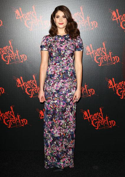 <b>Gemma Arterton</b><br><br>The Brit actress worked spring fashion in a floral print Erdem Resort 2013 gown at the Hansel & Gretel: Witch Hunters premiere in Sydney.<br><br>Image © Getty