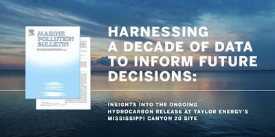 A peer-reviewed study published today in Marine Pollution Bulletin refutes theories promoted by the U.S. Coast Guard that actively flowing wells are the source of the sheen at the MC-20 site in the Gulf of Mexico off the coast of Louisiana. The study's authors also call on federal agencies to enlist the National Academies of Sciences, Engineering and Medicine to examine all existing science and develop the proper means of response.