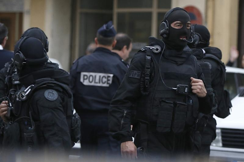 French police have arrested nine people in connection with a brazen robbery of a Saudi prince's convoy