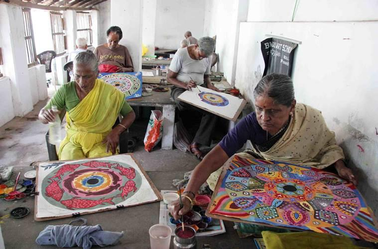 Werner Dornik, leprosy, leprosy in India, art exhibition by leprosy-affected people, leprosy colonies in India, Bindu Art School, social stigma, Indian Express, Indian Express news
