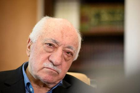 FILE PHOTO: U.S.-based Turkish cleric Fethullah Gulen at his home in Saylorsburg, Pennsylvania, U.S. July 10, 2017. REUTERS/Charles Mostoller/File Photo