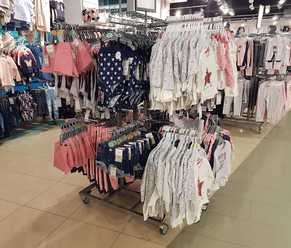 The shorts are available for babies as young as 0-3 months [Photo: SWNS]