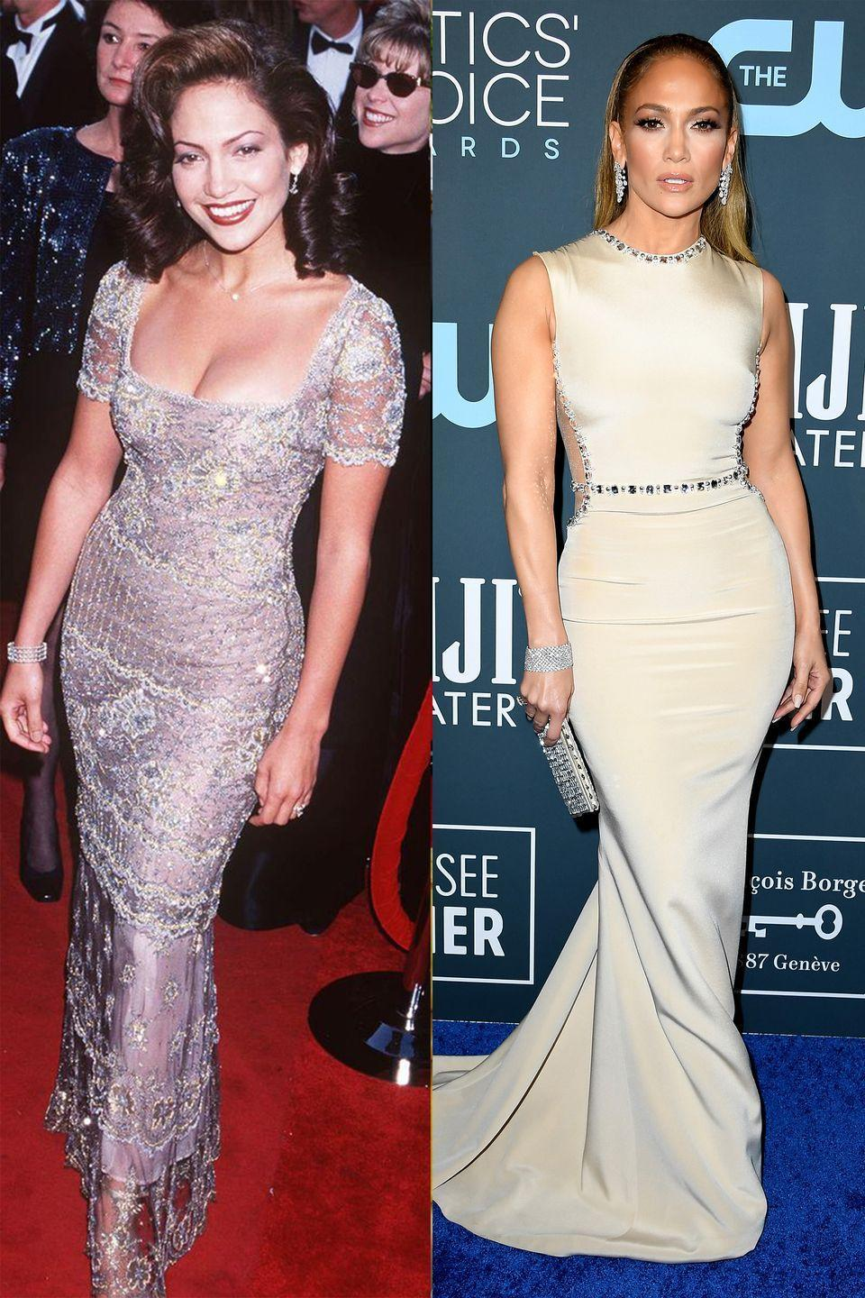 <p>We would never expect anything less than a glam form-fitting stunner from J.Lo.</p>