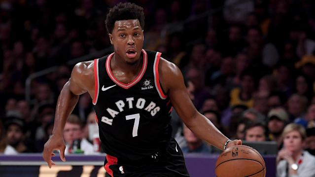 Kyle Lowry led Toronto with 25 points and the Raptors bench was dominant after being outplayed by Milwaukee in the first three games of the series. (Getty Images)