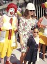 <p>Actresses Brooke Shields and Raven-Symoné, who both served as ambassadors for the Ronald McDonald House, attending a mural dedication ceremony for a new house in New York City.<br></p>