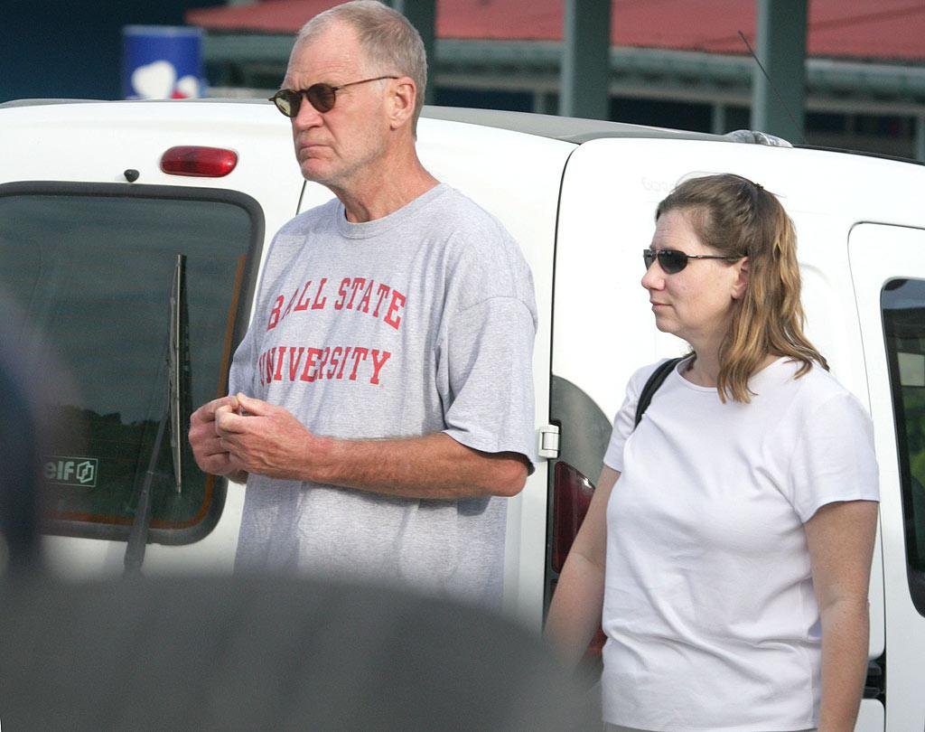 """The fiercely private David Letterman surprised his TV audience in March 2009 by announcing he and longtime girlfriend Regina Lasko had made their relationship official in Montana just days before. <a href=""""http://www.x17online.com"""" target=""""new"""">X17 Online</a> - December 2005"""