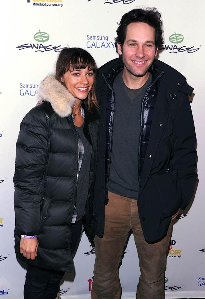 "Though they were primarily in town for the premiere of their film ""My Idiot Brother,"" co-stars Rashida Jones and Paul Rudd also found a few spare moments to enjoy the Sundance gifting suites. Andrew H. Walker/<a href=""http://www.wireimage.com"" target=""new"">WireImage.com</a> - January 22, 2011"