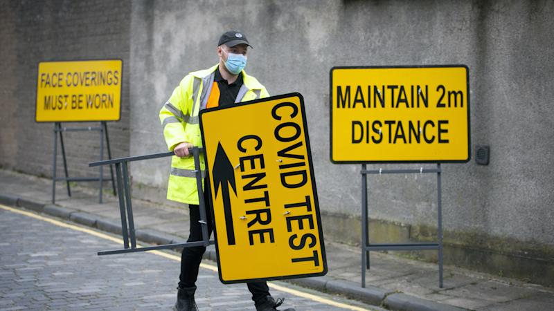 Issue with UK testing capacity sees delay in Covid-19 results