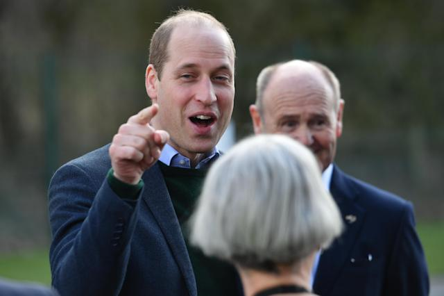 The Duke of Cambridge met business leaders in Nottinghamshire. (Press Association)