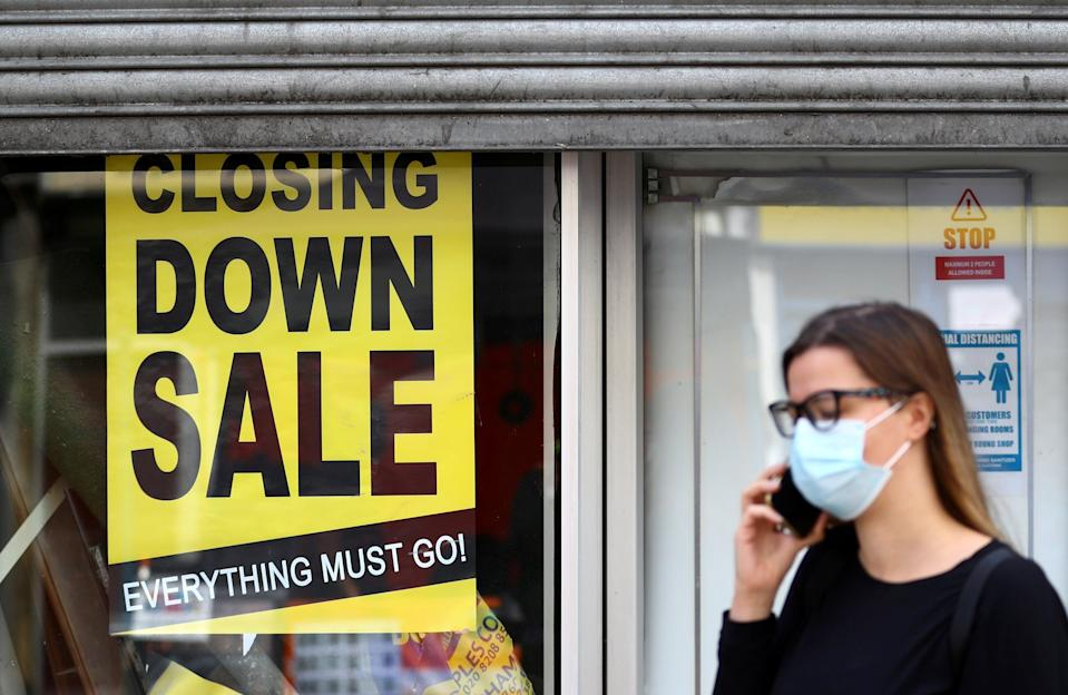 <p>Survey results published on Thursday found that around one in seven companies in the UK worry that they might not survive the next three months</p> (Reuters)