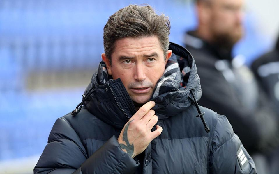 Oldham Athletic manager Harry Kewell - PA