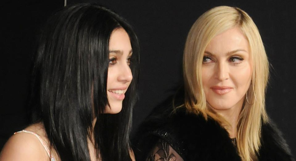 Madonna's daughter Lourdes Leon has previously been praised for displaying her body hair. (Getty Images)
