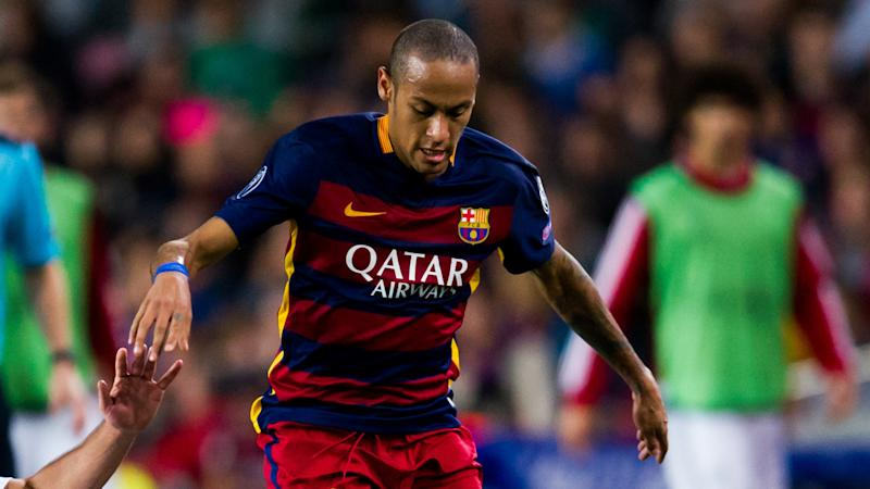 Neymar Barcelona Bayer Leverkusen Champions League 29092015