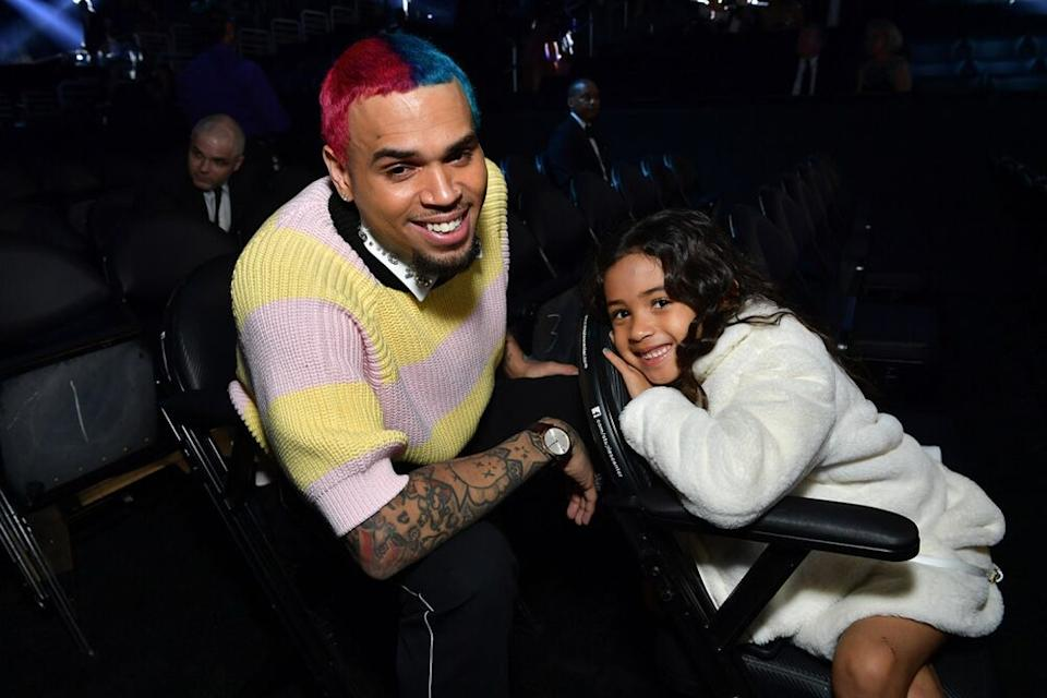 Chris Brown and daughter Royalty Brown | Emma McIntyre/Getty Images