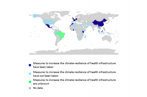 The U.S. is among the countries that have not taken measures to improve health infrastructure to deal with the influx of climate-related maladies. (The Lancet)