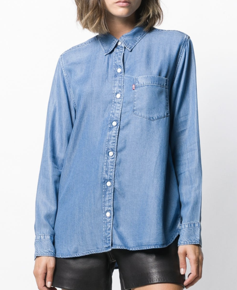Levi's Chest Pocket Denim Shirt. (Photo: Farfetch)