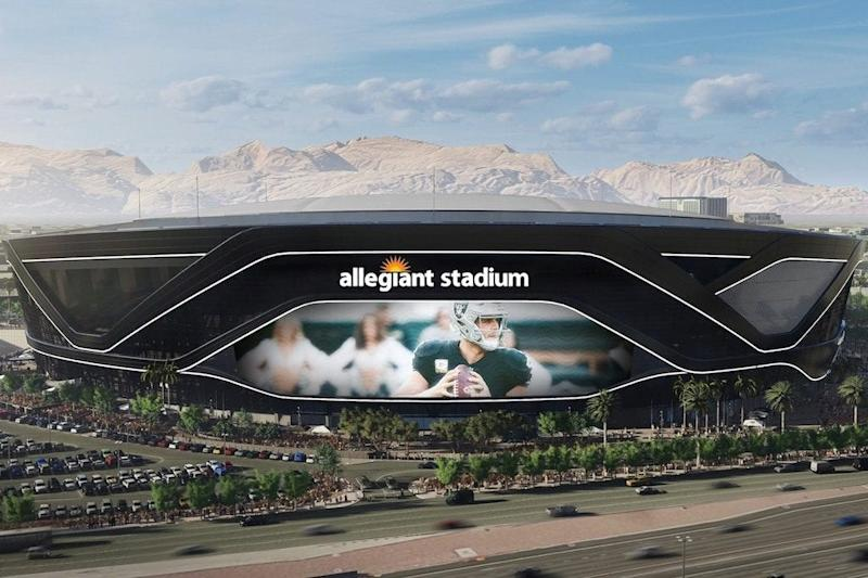 Allegiant Air Is Counting On New NFL Stadium in Vegas to Boost Recognition