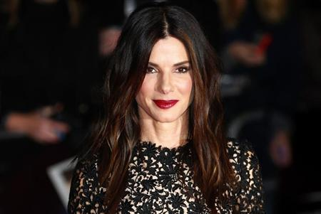 "Actress Sandra Bullock arrives at a gala screening of her film ""Gravity"" at the London Film Festival at a cinema in Leicester Square, central London, October 10, 2013. REUTERS/Andrew Winning"