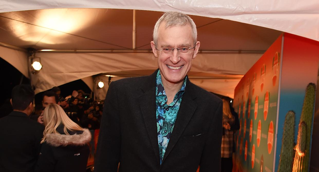 Jeremy Vine was able to hug his mother for the first time in over a year. (Photo by David M. Benett/Dave Benett/Getty Images)
