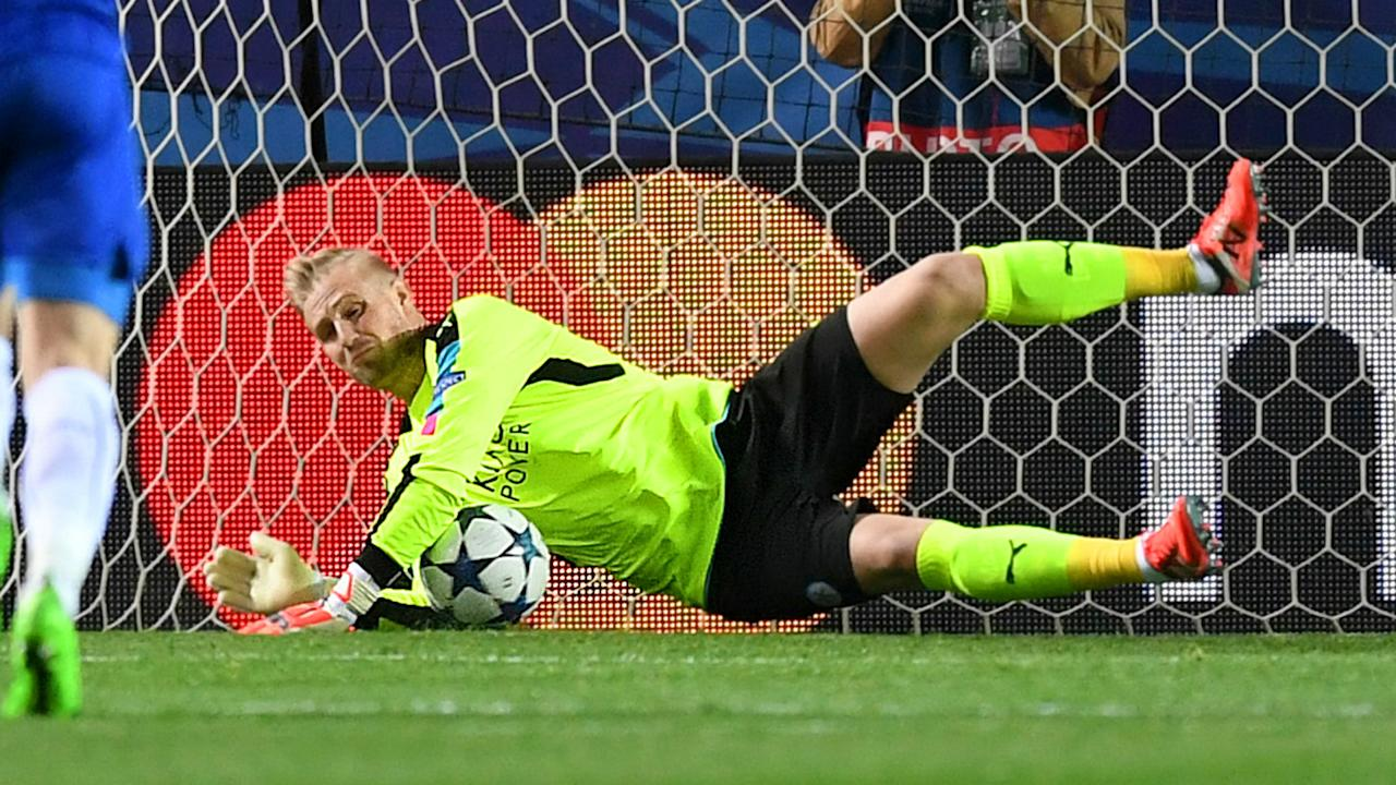 No keeper has been more important to their team's chances in the Champions League than the Denmark No.1 has been for Leicester